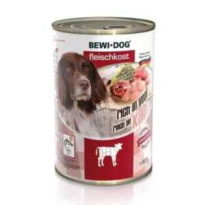 Bewi Dog Can with beef 400g