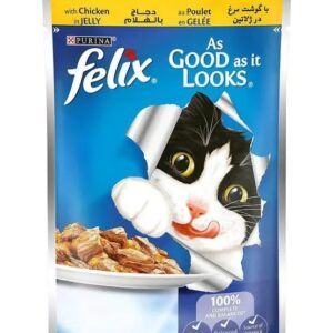 Purina Felix Trout & Green bean in Jelly 100 g